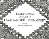 SALE Embroidery Designs Book Traditional Designs in Hardanger Embroidery 1992 Softcover Embroidery Patterns Embroidery Stitches