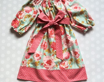 Easter Dress - Easter Dresses - Girls Easter Dress - Spring Dress - Floral Dress - Girls Dresses - Baby Girl Dresses - Girls Spring Dress
