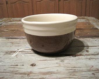Brown & Cream Oxford Stoneware Bowl