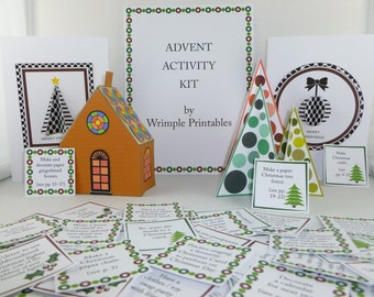 Advent Activity Kit Printable PDF Advent Printable