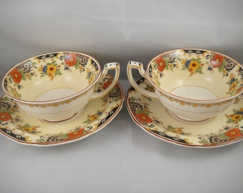 Grindley Tunstall Cup and Saucer (2) England
