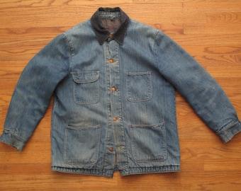 mens vintage Wrangler Blue Bell blanket lined chore jacket