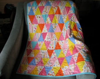 Triangle Candy Quilt