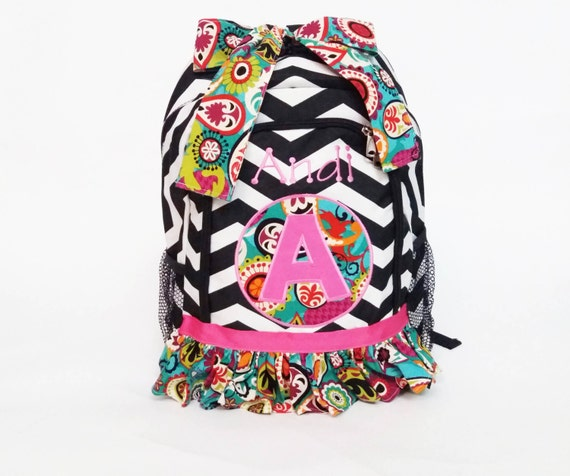 Personalized Book Bag