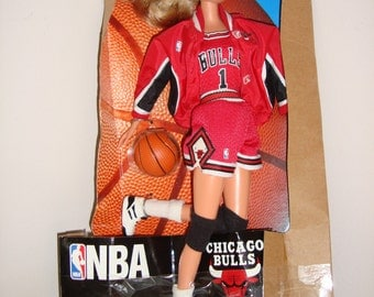 Chicago Bulls Barbie