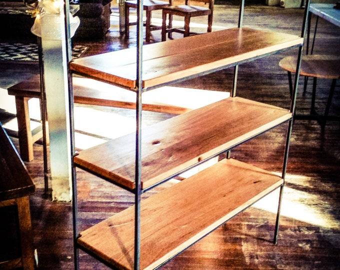 Steel Shelving Unit Metal Shelves Wood Shelves Modular Shelving