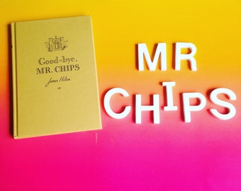 Goodbye Mr Chips by James Hilton. Vintage Illustrated Hardcover Classic 1962