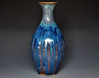 Pottery Vase Stoneware Flower Vase Handmade Ceramic Vase Pottery A