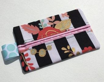 Floral Stripe Tissue Holder Tissue Case