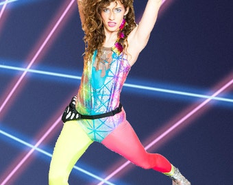 80's Workout Chick Costume