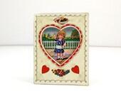 Be my Valentine - Vintage Valentine's Day Card