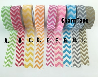 Chevron Washi Tape 15mm x 10m WT1000