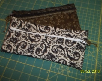 2 vintage inspired clutch purses