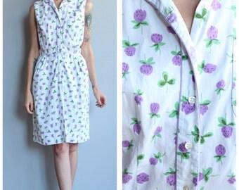 1950s Dress // Lilac L'Aiglon Dress // vintage 50s dress