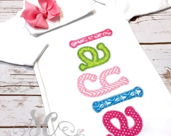 Personalized Newborn Coming Home Gown and Burp Cloth - Pink and Green Girly Coming Home Set - Newborn Gown and Burp Cloth