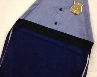 Police officer boys' Apron