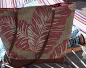 Beach Tote Bag Tropical