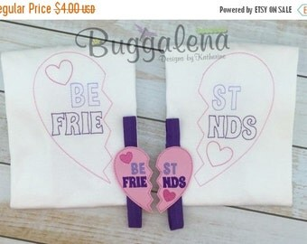 ON SALE Best Friends Colorwork Embroidery Design