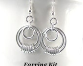 Serenity Chainmaille Earring Kit - Choose Your Color