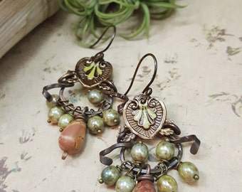 Nadya - Art Jewelry Earrings