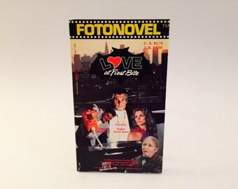 BOOKLOVERS SALE Vintage Book Love At First Bite Fotonovel 1979 Paperback