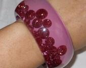 Sobral Fashion Planet Venus Pink Glitter PB34 Bracelet Direct From Brazil