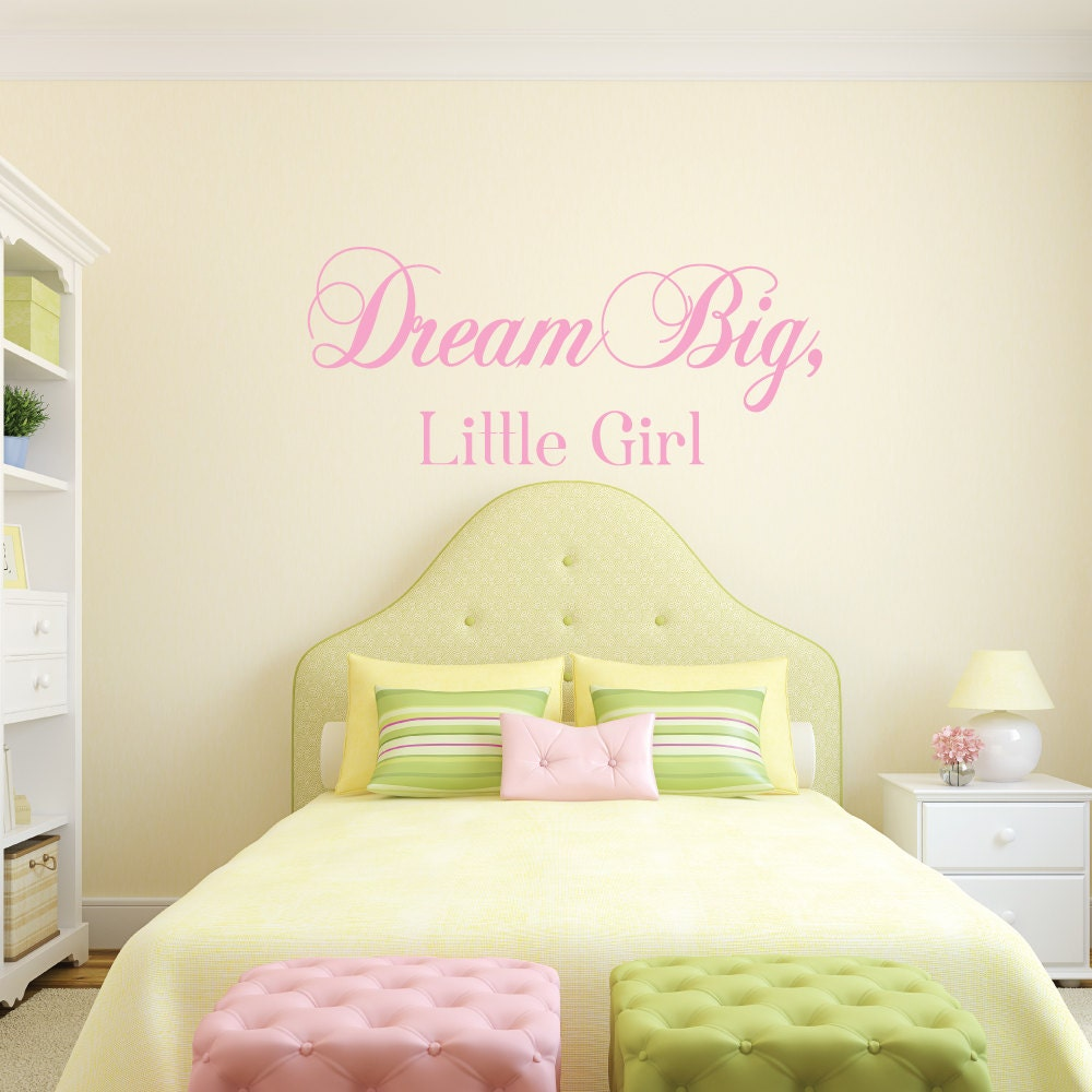 Dream Big - Dream Big Little One - Dream Big Little Girl - Nursery ...