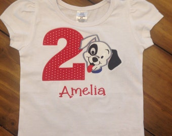 Dalmatian Puppy Birthday Shirt