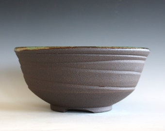 Handmade Ceramic Bowl, pottery bowl, wheel thrown bowl, stoneware bowl, ceramic serving bowl