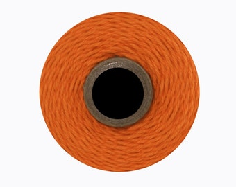 Solid Orange Divine Twine (240 yards) Orange Twine