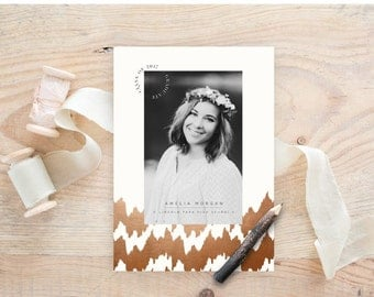 INSTANT DOWNLOAD  Classic Black & White Grad vol 2 Card 4