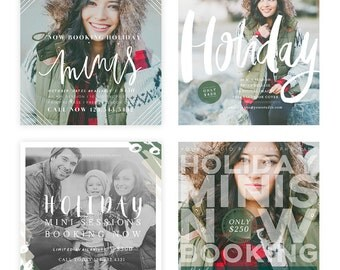 Holiday Minis 2015 Blog, Facebook and Instagram ready Templates