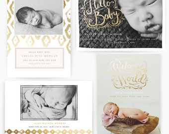 Brushed Baby 5x7 Whcc Cards
