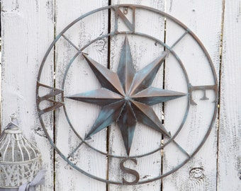 Charmant Compass Rose,Nautical Compass,Wall Decor,Wedding Gift
