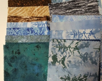 """Wilmington Winter Whispers Charm Pack 42 5"""" Squares Free Shipping"""