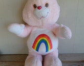 "RARE Giant Care Bear ""Cheer Bear"" Plush 36"" Tall"