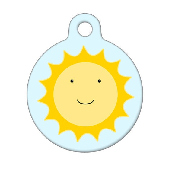 Pet ID Tag - You Are My Sunshine Pet Tag, Dog Tag, Cat Tag