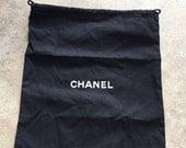 "10"" x 12.5"" Chanel Drawstring Dustbag"