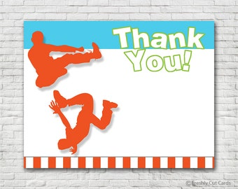 Everybody Jump Thank You Card