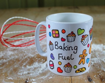 Baking Fuel Printed Mug