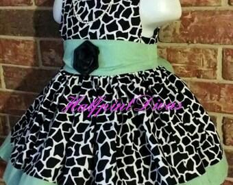 Boutique Party Dress Size 12 month RTS SALE