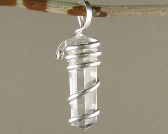 Quartz Point Pendant (453)