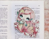 Lolita the mermaid - bookmark - made to order