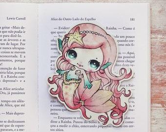 Lolita the mermaid - bookmark - made to order