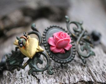 Victorian Rose Bracelet