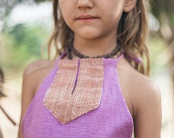 Crystal Dress ~ Khadi Cotton ~