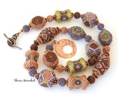 Reserved Listing for Terry - Art Bead Necklace by Sharri Moroshok