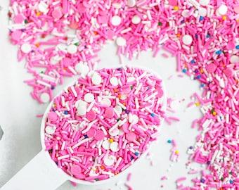 CIRCUS COOKIE Vegan, Gluten-Free, Sprinkle Mix, Pink Sprinkles, Animal Cracker, Canadian Sprinkles