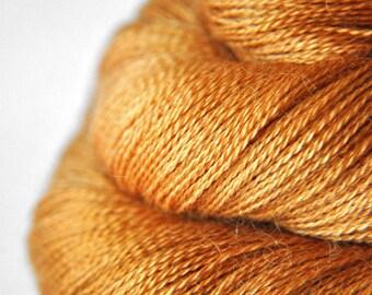Dead leaves - BabyAlpaca/Silk Lace Yarn