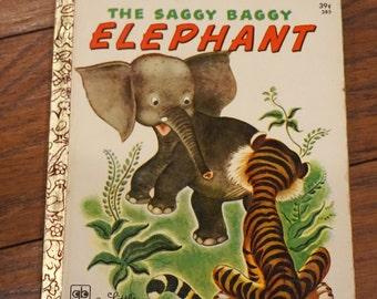 The Saggy Baggy Elephant A Little Golden Book 1972 Golden Press Illustrated By Tenggren